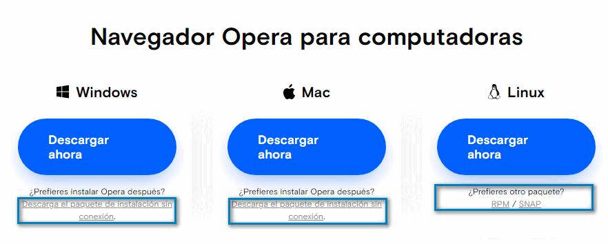 opera offline