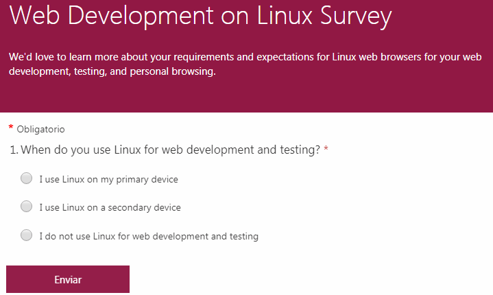 Microsoft Edge Chromium podría llegar a Linux