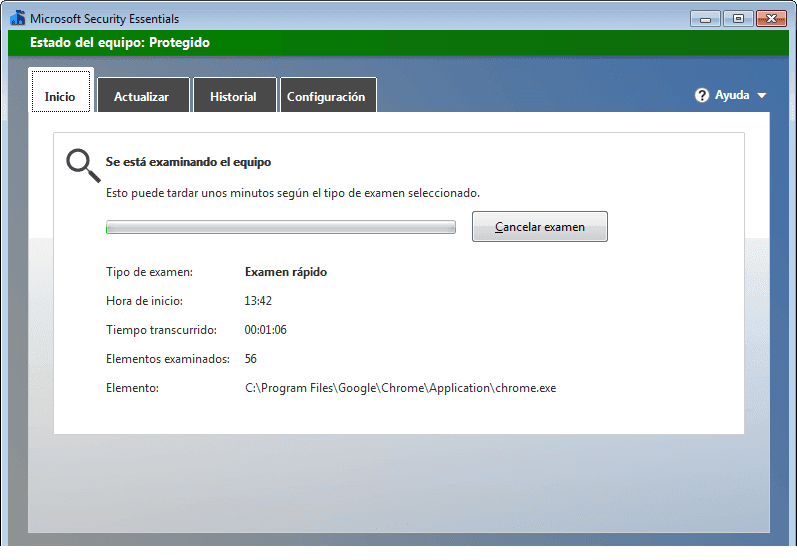 Windows Defender presenta problemas de escaneo en su versión 4.18.1908.7