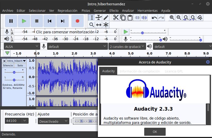 Audacity 2.3.3 disponible! Cómo instalarlo en Ubuntu y Linux Mint