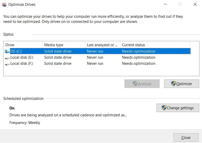 La actualización de Windows 10 corrige un error molesto que afecta sus unidades SSD