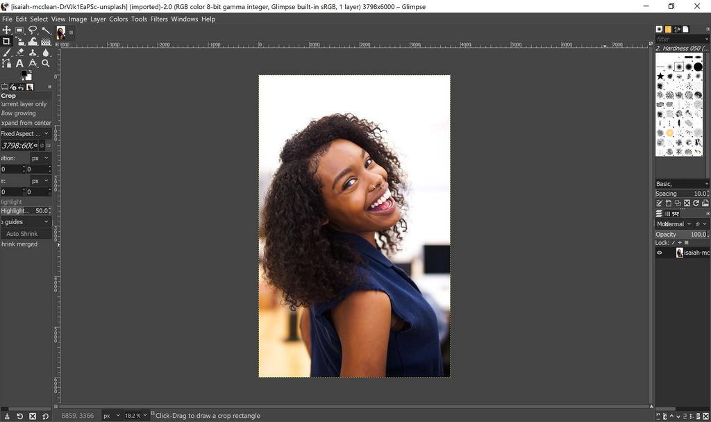 Glimpse: la alternativa a GIMP, ahora se parece más a Photoshop