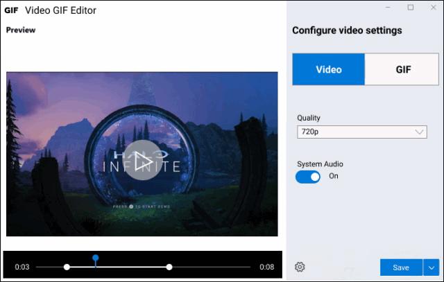 Windows 10 obtiene nueva utilidad para PowerToys llamada Video GIF Capture