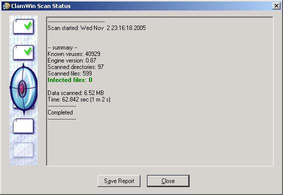 ClamWin: Antivirus gratuito y de código abierto compatible con todas las versiones de Windows