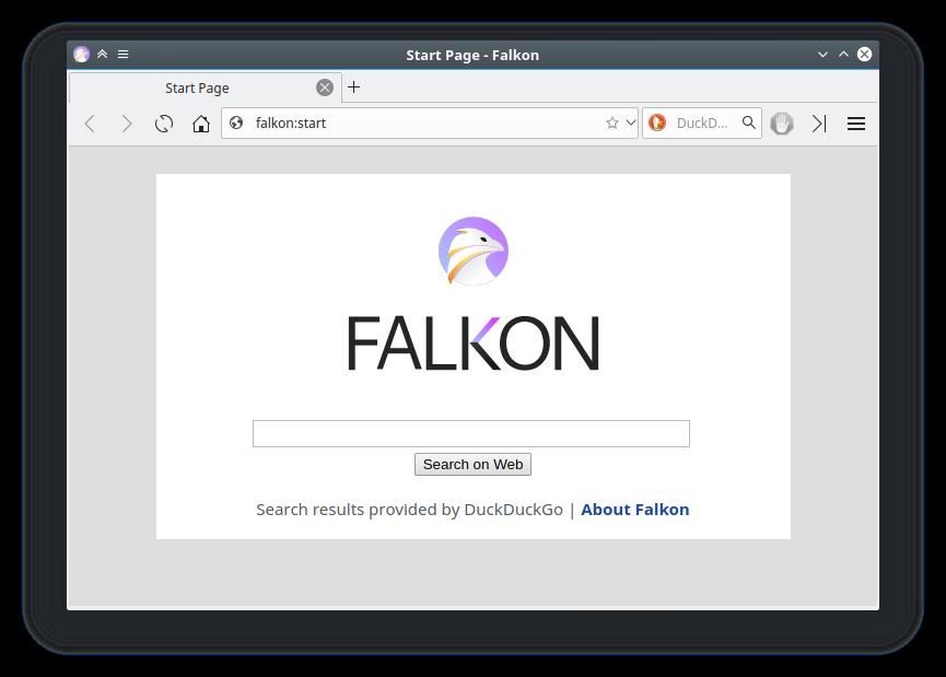 Falkon: El navegador de KDE para Windows