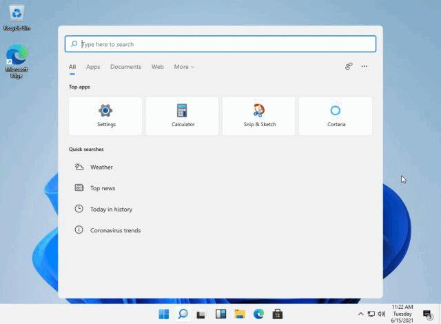 Se filtra Windows 11 Build 21996 en línea (capturas de pantalla y algo más)