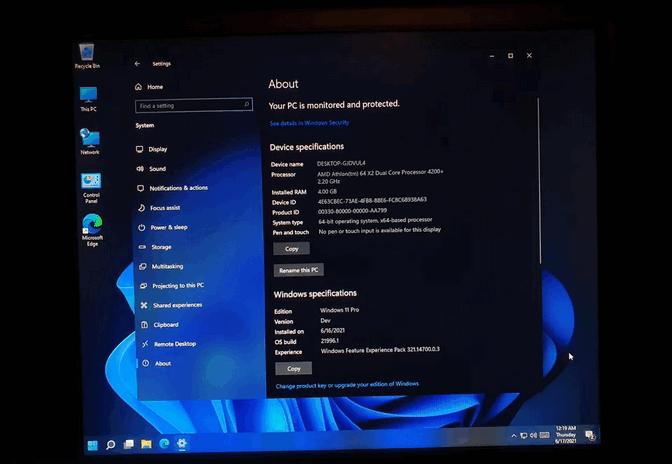Cómo instalar Windows 11 en un PC que no cumple los requisitos mínimos