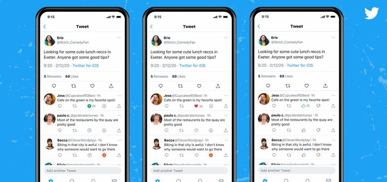 Twitter está probando el botón de «No me gusta» en los Tweets de su red social
